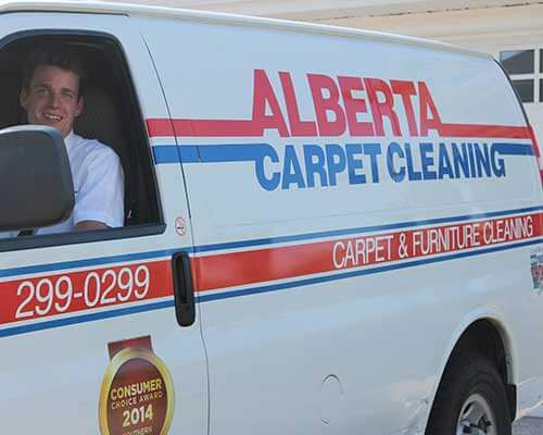 Alberta Carpet Cleaning Van