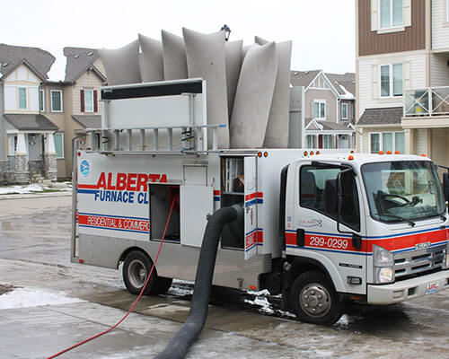 Furnace Cleaning Truck