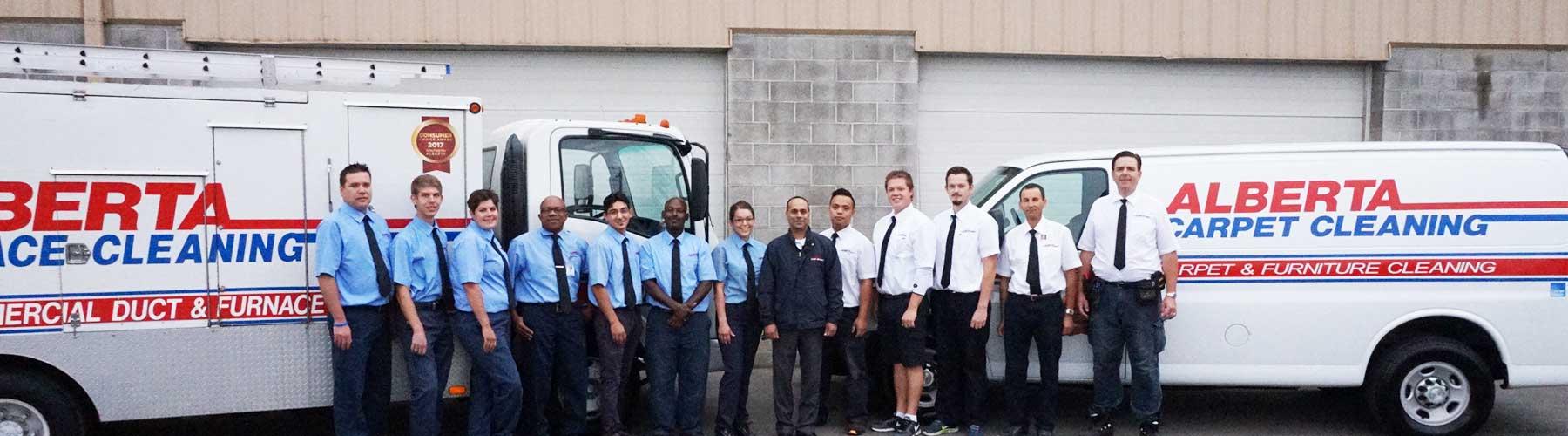 Alberta Home Services Crew